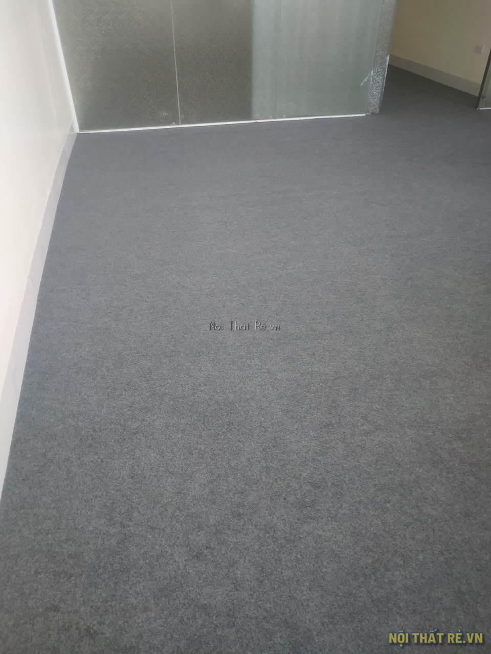 thảm trải sàn văn phòng màu ghi